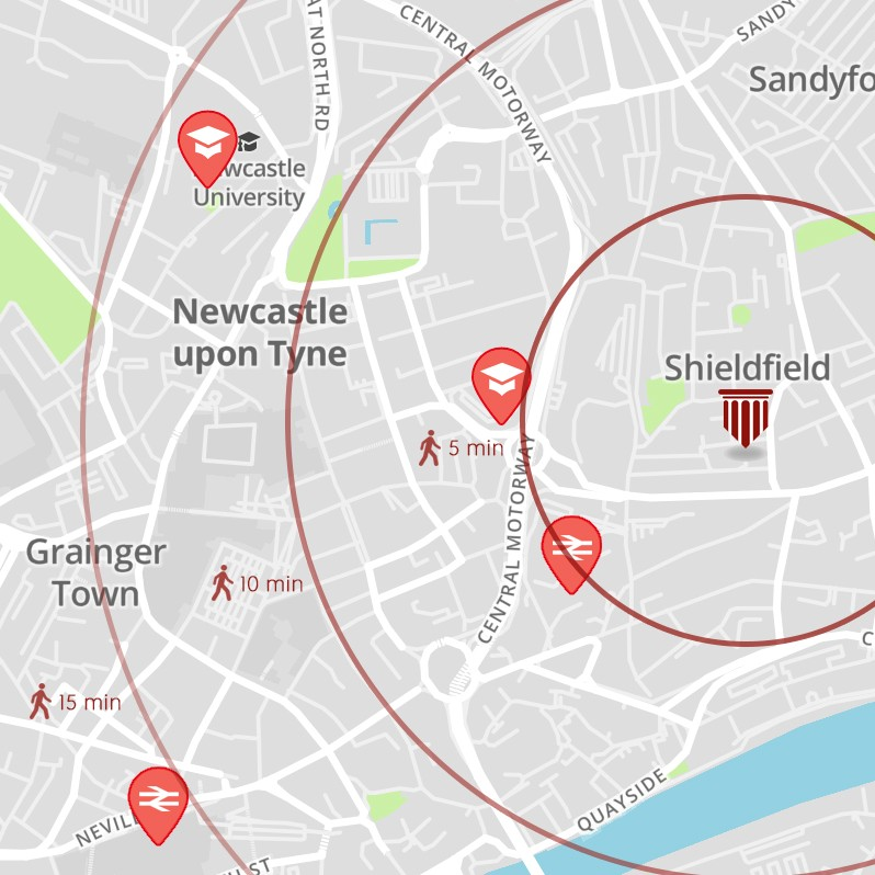 Newcastle,United Kingdom,Student Rooms,1109